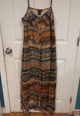 Wet Seal Maxi Dress Size Large NWT