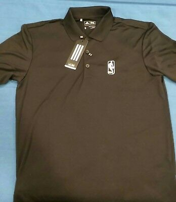 Adidas Golf Performance Polo Shirt - NBA Finals 2017 - Mens Small  Black