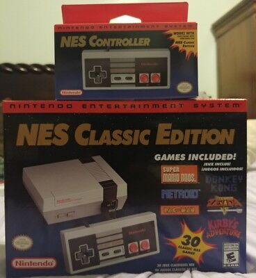 Nintendo Entertainment System NES Classic Edition - NES classic controller