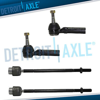 ALL 4 Steering Inner - Outer Tie Rod End Links Chevy Impala Grand Prix Regal