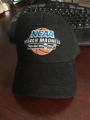 March Madness NCAA College Basketball Hat Cap Adjustable CBS TBS TNT TruTV