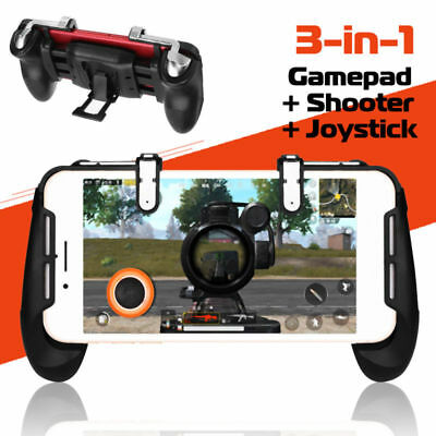 Mobile Gaming Gamepad Joystick Controller Trigger Fire Button For PUBG FORTNITE