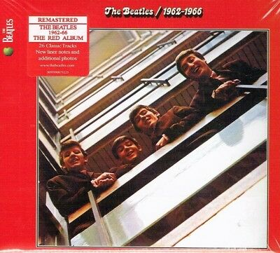 The Beatles - RED Album 1962-1966 Remastered 2CD 2010 Brand New Fast Shipping