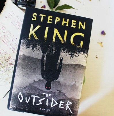 The Outsider A Novel by Stephen King 2018 Hardcover Free Shipping