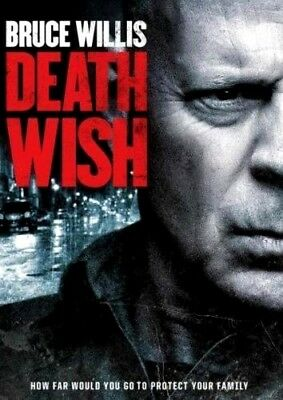 Death Wish DVD2018 NEW Action Thriller Crime Free Shipping with USA Seller