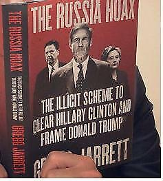 The Russia Hoax Illicit Scheme to Clear Hillary Clinton-Hardcover-New-FreeShip