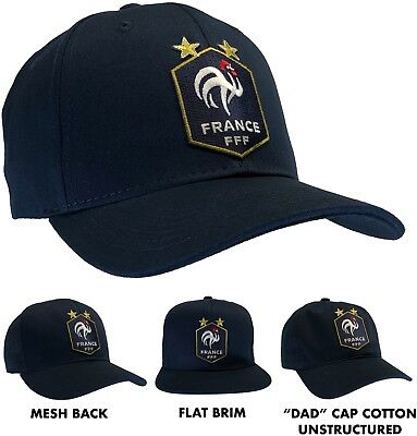 FFF Ball Cap Hat French Football Federation France Soccer Team Hat World Cup
