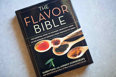 The Flavor Bible The Essential Guide to Culinary Creativity Hardcover FreeShip