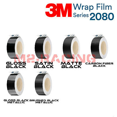3M 1080 Black Vinyl Wrap Kit for Black Out Chrome Delete Window Trim Door Trim