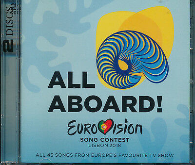 Eurovision Song Contest 2018 All Aboard Lisbon CD NEW