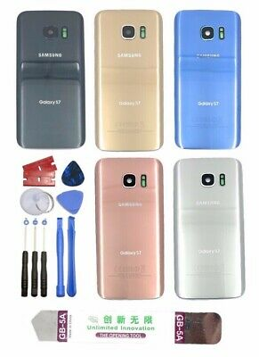 Samsung Galaxy S7S7 Edge Back Glass Replacement Kit w Tool-Lens-Frame-Adhesive