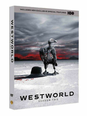 Westworld The Complete Second Season DVD 2018 3-Disc Set Brand New