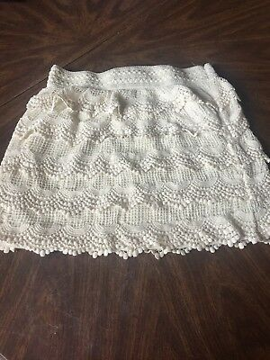 Wet Seal Lace Skirt Large