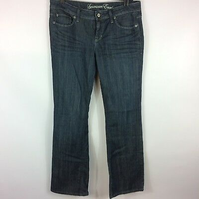 American Eagle Outfitters Dark Wash True Bootcut Jeans Womens Size 10
