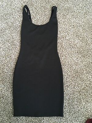 Brand New Wet Seal Sexy Black Fitted Bodycon Little Black Lace Dress XS