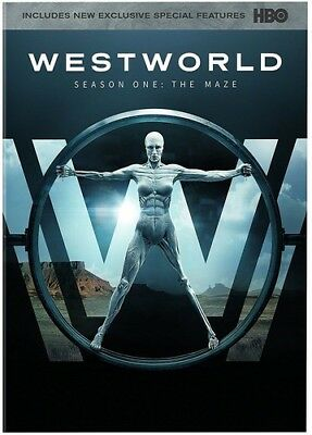 Westworld The Complete First Season 883929631858 Blu-ray Used Very Good