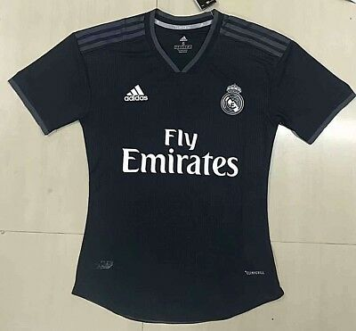 Real Madrid 1819 jersey Authentic player version Away Black Luca Modric 10