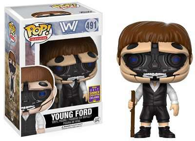 Funko POP Westworlds YOUNG FORD Open Face EXCLUSIVE RARE MINT-IN-BOX