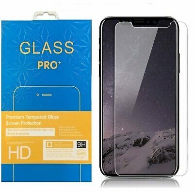 Crystal Clear Tempered Glass Screen Protector for iPhone Xs  Xs Max  XR  X