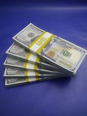 Prop Money New 50000 Highly Realistic Filler Prop Stacks Great for Filming
