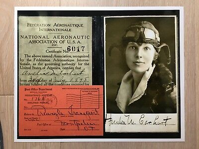 July 2 1937 Amelia Earhart Disappears In The South Pacific DATED Post Card