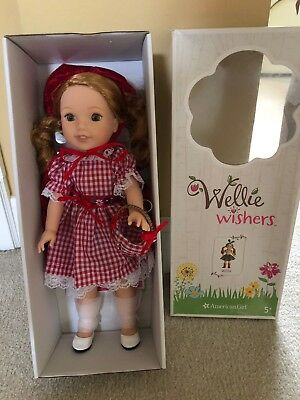 Wellie Wishers Willa Red Riding Hood New