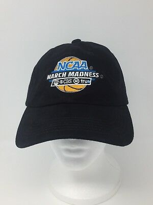 March Madness NCAA College Basketball Hat Cap  Adjustable CBS TBS TNT TruTV- UPS