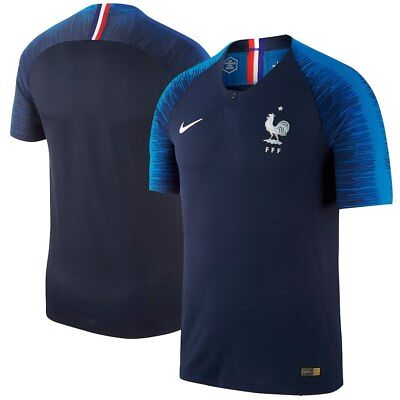 Nike Mens ANY SIZE France 2018 World Cup Vapor Match Player Jersey