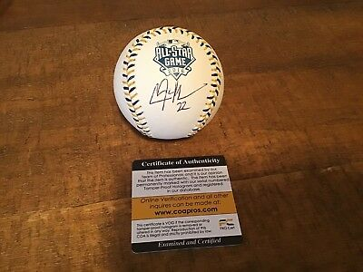 Clayton Kershaw Signed Official 2016 All Star Game Baseball- Dodgers- COA