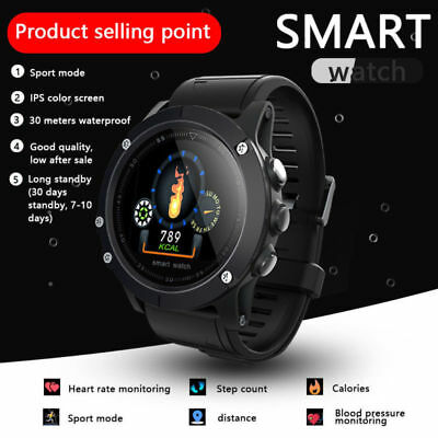 Smart Watch Band Heart Rate Oxygen Blood Pressure Fitness Sport Tracker USA