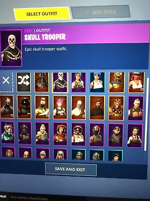Fortnite Skull Trooper Pc