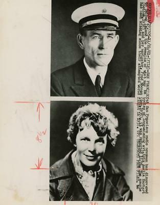 Amelia Earhart Fred Noonan missing bodies discovered 1961 Press Photo