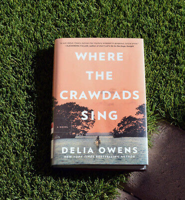 Where the Crawdads Sing by Delia Owens 2018-Hardcover Freeshipping Brand New
