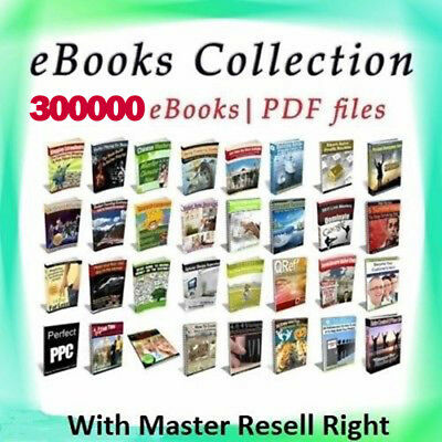 300000- eBooks Package Collection  Pdf Format  With Master Resell Rights