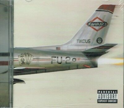 Eminem  Kamikaze  Explicit CD  New Sealed Fast Free Shipping