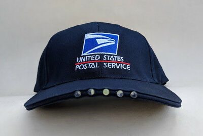 5-LED lighted USPS embroidered letter carrier ball cap-