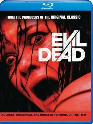 Evil Dead Unrated 2013 2-Disc Blu-ray Jane Levy Shiloh Fernandez - New