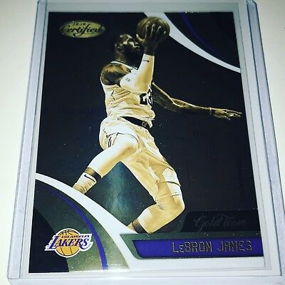 2018-19 Lebron James L-A- Lakers Panini Certified GOLD TEAM SP