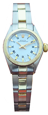 ROLEX OYSTER PERPETUAL AUTOMATIC STEEL - 14K GOLD LADIES WATCH Ref- 6719 W Box