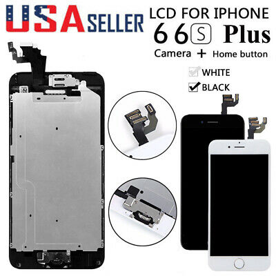 For iPhone 6S 6 Plus LCD Touch Screen Full Replacement With Home Button-Camera
