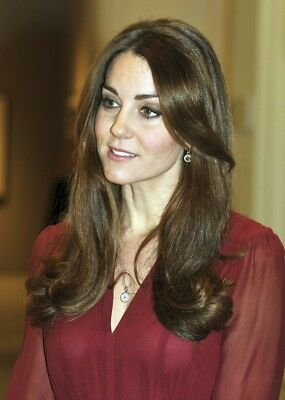 Kate Middleton Looking With The Mouth Half Open 8x10 Photo Print