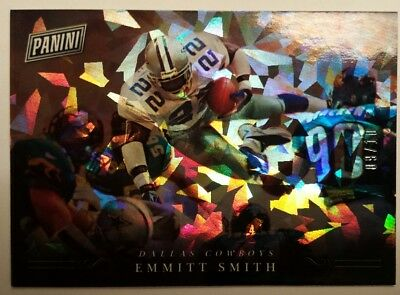 2018 Panini Black Friday Emmitt Smith Cracked Ice 910 Cowboys