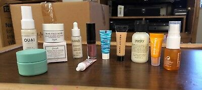 Lot Of 11 Sephora play box sample Size Assorted Make Up New
