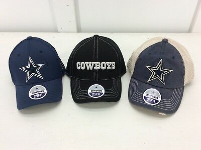 DALLAS COWBOYS - NFL Mens baseball hats -ONE SIZE- Choose from 3 styles - NEW