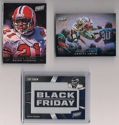 2018 Panini Black Friday Football SP Parallel  DEION SANDERS 171199 Falcons