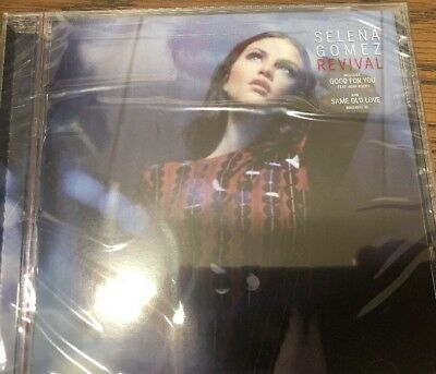 Selena Gomez - Revival Limited Edition Cover CD Interscope -USA NEW