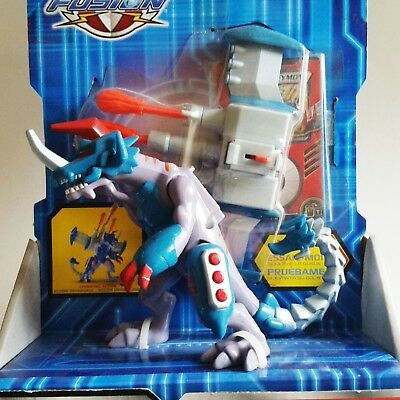 Bandai Digimon Fusion Metal Graymon Firing Plasma Cannon 5-5 Action Figure New