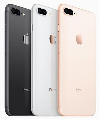 Apple iPhone 8- Plus - 64GB 256GB Factory GSM Unlocked  AT-T T-Mobile Very Good