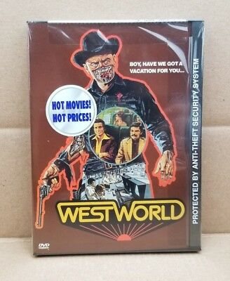 Westworld DVD 2000 1973 Movie Original Snapcase Yul Brynner NEW - SEALED