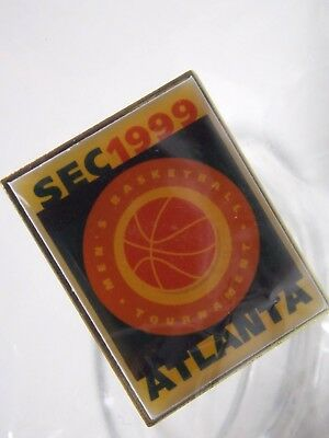 SEC 1999 Mens Basketball Tournament Atlanta Pin